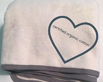 cs Organic Baby Bath Towel