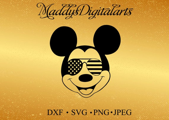 mickey mouse svg sunglasses Disney Mickey Mouse Sunglasses svg mickey mouse ears svg mickey mouse head svg files for Cricut Silhouette from ...