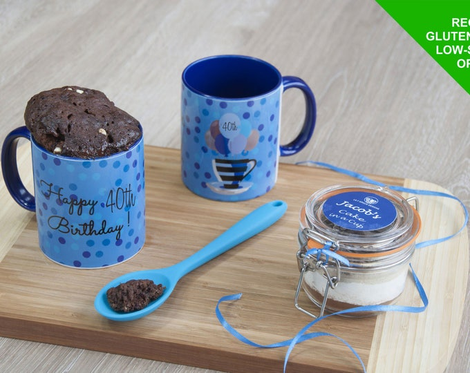 40th birthday gift, 40th birthday mug, 40th cake, friends 40th, his birthday, brothers birthday, dads birthday, birthday cake, baking gift