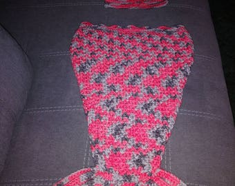 Baby Mermaid Sack Blanket