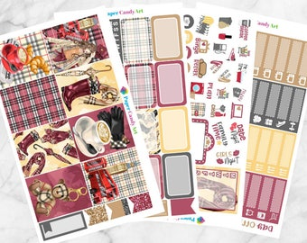 London // Mini Weekly Planner Stickers
