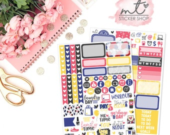 Dream Mini Kit || Vertical || 80+ Planner Stickers || Erin Condren Life Planner