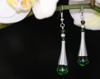 Ethnic chic earrings