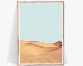 Desert Print,Desert Photography,Nature Print,Modern Wall Art,Digital Download,Art Prints,Large Print,Sand Print,Dune Print,Desert,Wall Art
