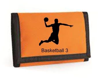 Basketball Slam Dunk Ripper Wallet Printed
