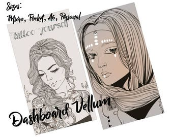 Vellum Dashboard TN Pocket / A6 / Personal / Micro
