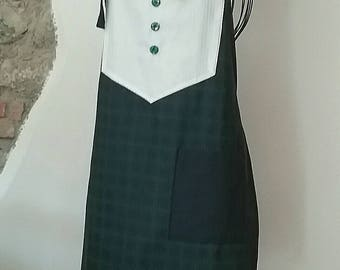 Kitchen Apron with Cook hat