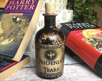 Harry Potter Gift. Phoenix Tears. Harry Potter Potion Bottle. Harry Potter Magic Potion. Magic Potion. Harry Potter Decor. Potion Bottle.
