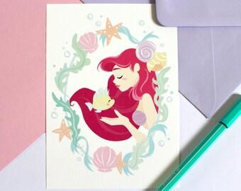 Carte Postale- Ariel