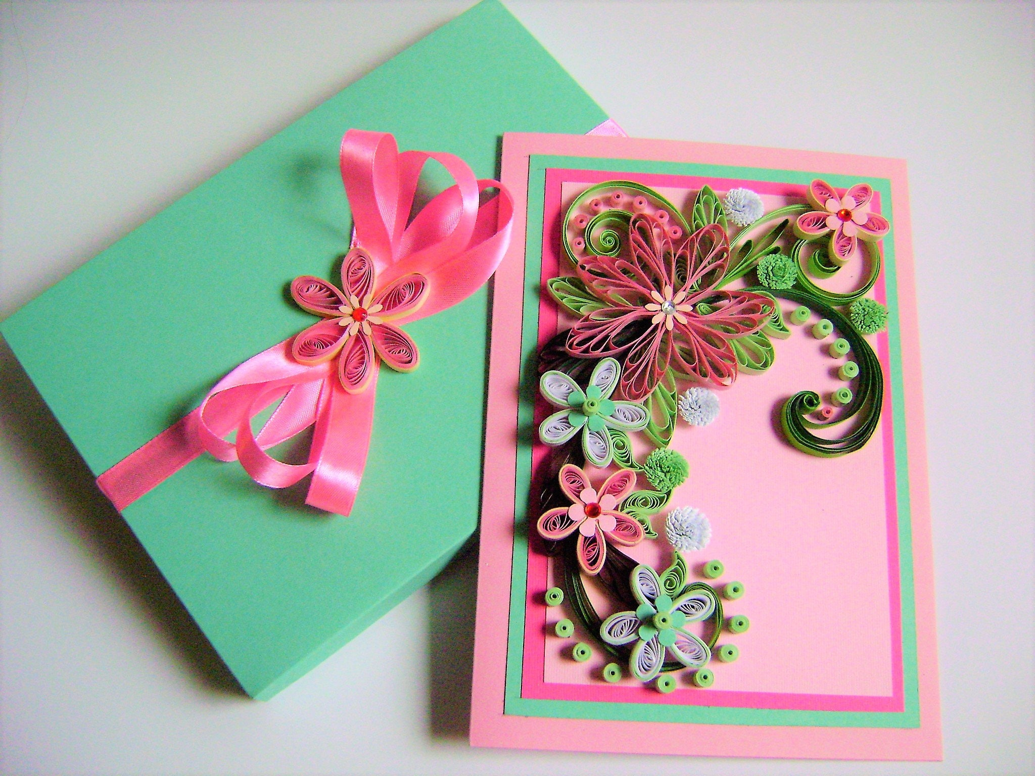 Flower wedding cardwedding invitation cardquilling greeting card flower wedding cardwedding invitation cardquilling greeting cardanniversary cardquilled stopboris