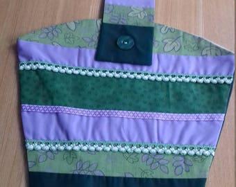 Peg bag, patchwork peg bag,  clothes peg bag, clothes peg holder, cotton peg bag, storage bag, tidy bag