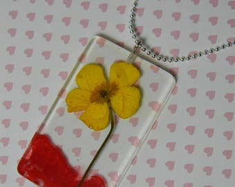 "Necklace Nature ""Buttercup"" collection"