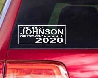 Johnson 2020 Presidential Decal
