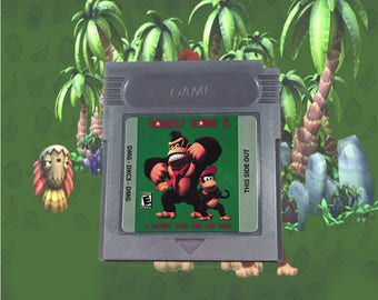 Donkey Kong 5: The Journey Of Over Time And Space fan made hack GBC