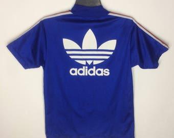 Rare!!! Vintage Adidas Jersey Big Logo 90s