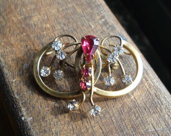 excusite gold filled brooch