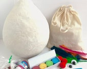 DIY Pinata Make Your Own Pinata DIY Craft Kit For Kids Unique Gifts For Kids DIY Craft Projects Party Favor Birthday Party Craft Kit