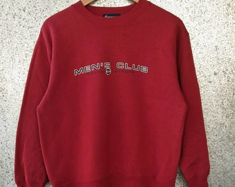 Vintage Mens Club sweatshirt