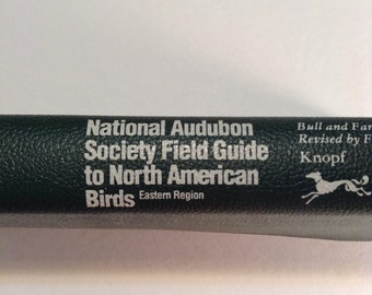 Vintage Bird watchers guide book// National Audubon Society North American Bird Guide// North America bird guide book