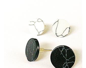 Stekertjes Marble Print