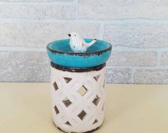 Blue and white Wax Warmer
