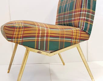 Louis Paolozzi edition Zol vintage 50's rockabilly 1950s Chair lounge chair