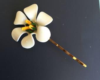 Lovely Vintage Flower Hair Pin