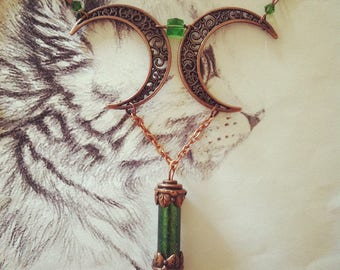"""Necklace """"Forest Moon"""""""