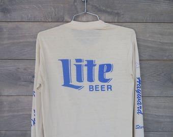 0251 Vintage Lite Beer Beige Long Sleeve