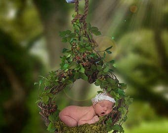 Newborn Hanging Wreath