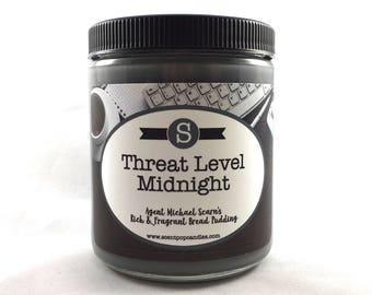Threat Level Midnight, The Office Inspired Soy Candle