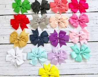 FLASH SALE!! PICK 6 Bow Headbands/Newborn Headband/Baby Girl Headband/Baby Headband/Baby Hair Bow/Infant Headband/Baby Bow/Headband/Baby