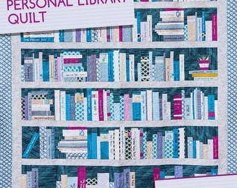 Personal Library Quilt Pattern by Heather Givans for Crimson Tate