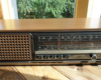 Grundig RF 420 radio made in West Germany, 1970s
