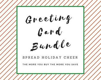 Christmas Greeting Card Bundle