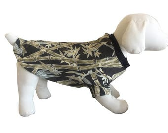 S-M-L Tommy Bahama Dog Shirt, gear, clothing