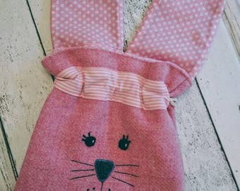 Hand Crafted Harris Tweed Kids string bag