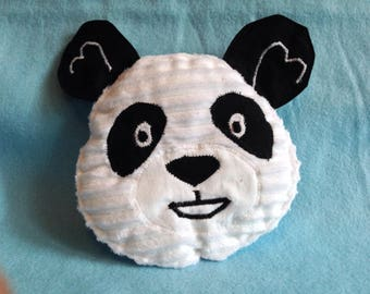 Animal baby panda-shaped blanket