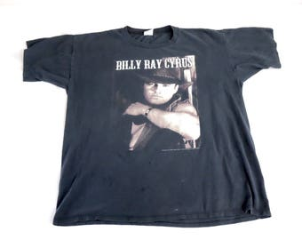 90s BILLY RAY CYRUS Redneck Heaven Tour T-shirt