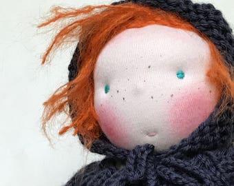 FRIEDA - Waldorf doll (prompt sale)