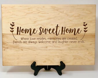 Housewarming Gift, Gift for New Homeowner, Newlywed Gift, New Couple Gift, New Home Gift, Personalized Housewarming Present, Custom Gift