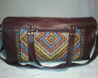 Aztec Diamond Travel Bag