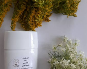 Deodorant sensitive skin natural / natural antisudorique