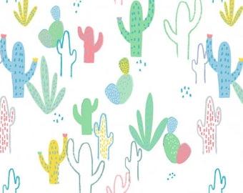 Dear Stella Desert Cotton Quilting Fabric White