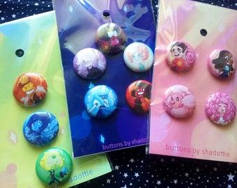 Steven Universe Buttons