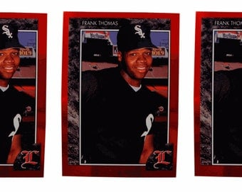 5 - 1992 Legends #2 Frank Thomas Baseball Card Lot Chicago White Sox