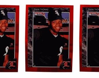 5 - 1992 Legends #2 Frank Thomas Baseball Card Lot Chicago White Sox