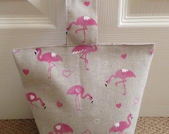 Flamingo Fabric Doorstop