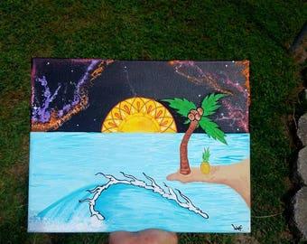Island Daze painting