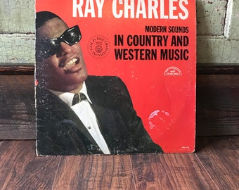 Original Ray Charles Record Album - Modern Sounds in Country & Western Music